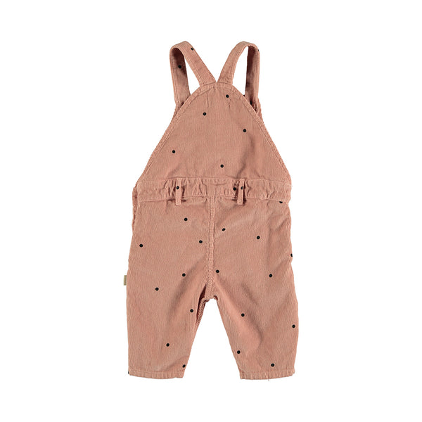 My Little Cozmo Baby Cord Latzhose Vintage Pink bei Yay Kids