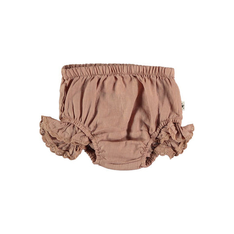 My Little Cozmo Baby Bloomers Leinen Terracotta bei Yay Kids