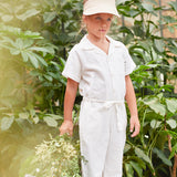 My Little Cozmo Kinder Leinen Overall bei Yay Kids