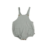 My Little Cozmo Baby Musselin Overall Light Grey bei Yay Kids