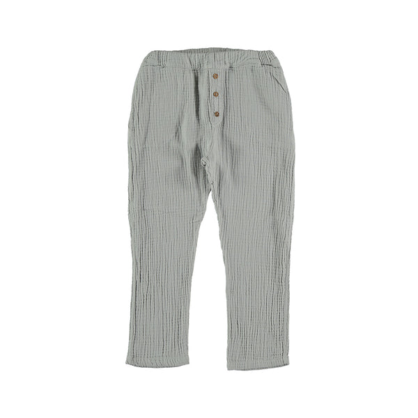 My Little Cozmo Kinder Musselin Hose Light Grey bei Yay Kids