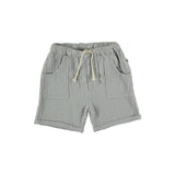 My Little Cozmo Kinder Musselin Shorts Light Grey bei Yay Kids