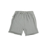 My Little Cozmo Kinder Musselin Shorts Light Grey hinten bei Yay Kids