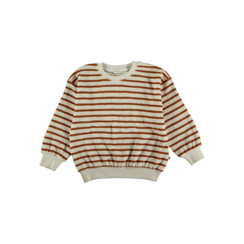 My Little Cozmo Kinder Frottee Pullover Peanut bei Yay Kids