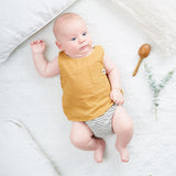 My Little Cozmo Baby Sommer Top Senfgelb Baumwolle bei Yay Kids