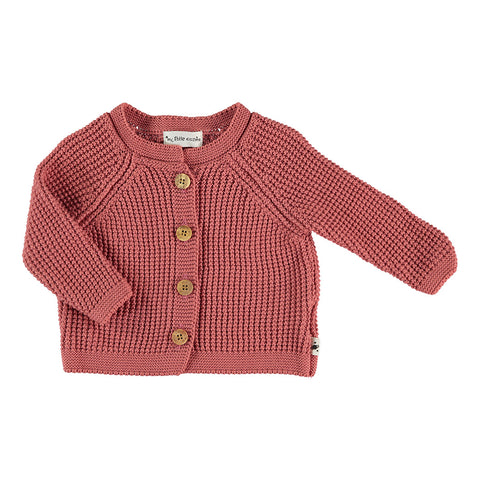 My Little Cozmo Baby Sommer Cardigan in Coral bei Yay Kids