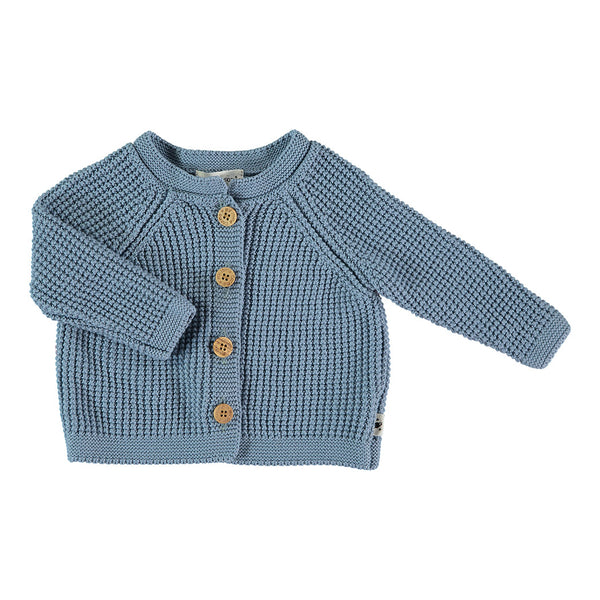 My Little Cozmo Baby Sommer Cardigan in Blau bei Yay Kids