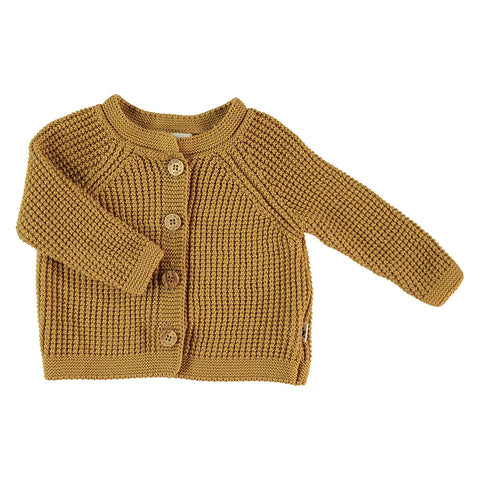 My Little Cozmo Baby Sommer Cardigan in Senfgelb bei Yay Kids