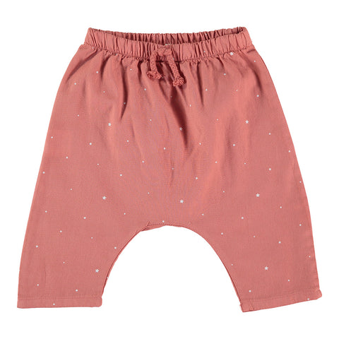My Little Cozmo Baby Hose Coral Stars Bio-Baumwolle bei Yay Kids