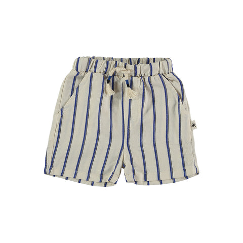 My Little Cozmo Kinder Leinen Shorts Weiss gestreift bei Yay Kids