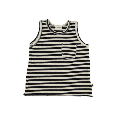 My Little Cozmo Kinder Tank Top Weiss gestreift bei Yay Kids