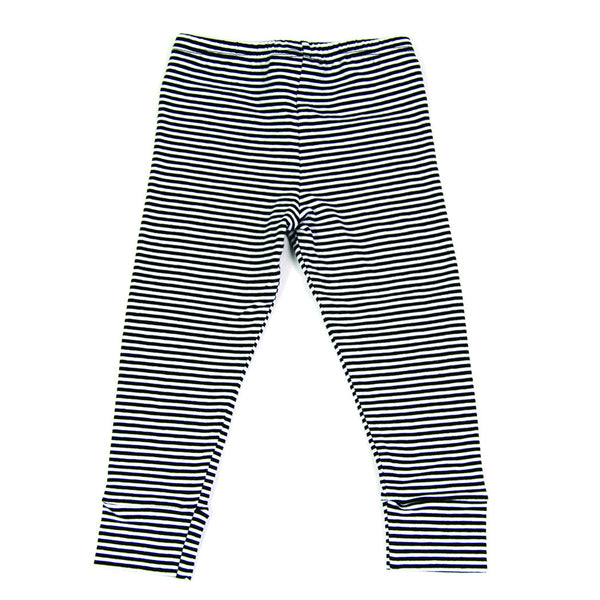 Mingo Kinder Winter Leggings gestreift hinten Yay Kids