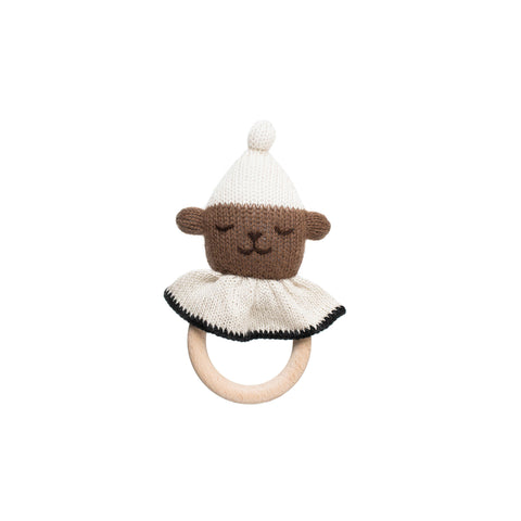 Main Sauvage Beissring Rassel Teddy bei Yay Kids