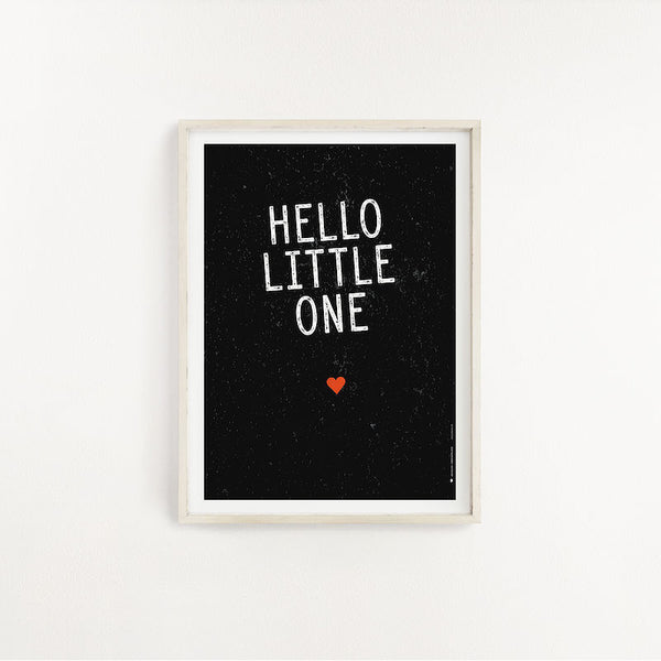Ma'Loulou Poster A4 Hello Little One bei Yay Kids
