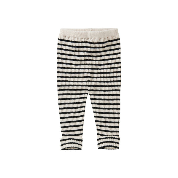 Mingo Baby Leggings Stripes gestrickt bei Yay Kids