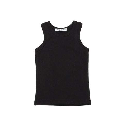 Tank Top in Schwarz Mingo Yay Kids