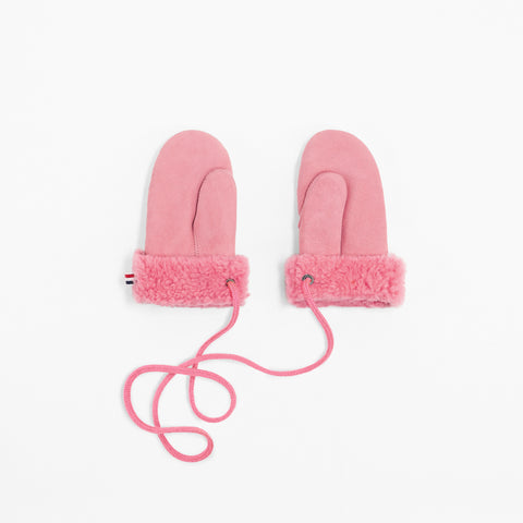Toasties Paris Kinder Fell Winter Handschuhe in Pink bei Yay Kids