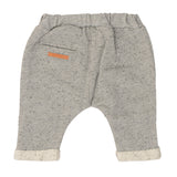 Baby Trainer Hose Speckle Grau Hinterseite Yay Kids