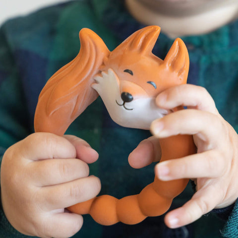 Natural Rubber Teether Fox