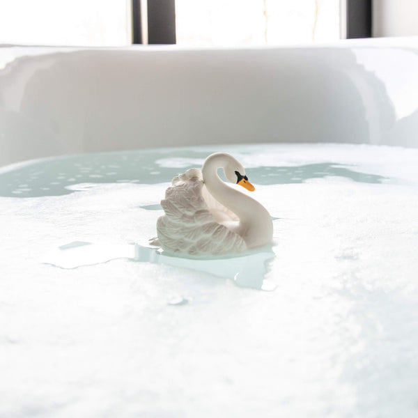 Natural Rubber Bath Swan