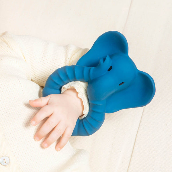 Natural Rubber Teether Elephant