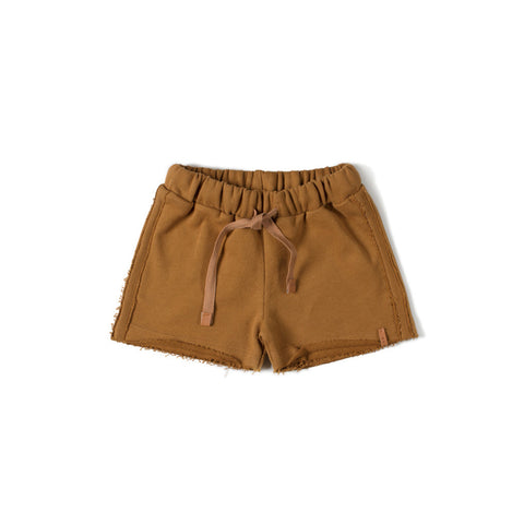 Nixnut Jungs Shorts Basic Caramel bei Yay Kids