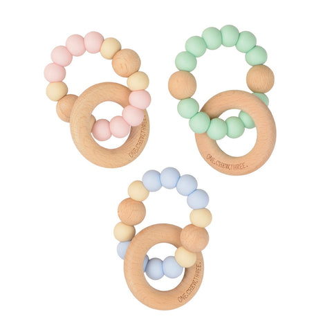 Teether Rattle Mint