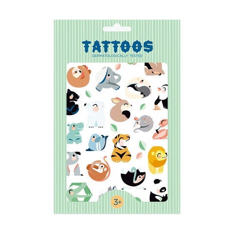 Petit Monkey Kinder Tattoos Wild Animals bei Yay Kids