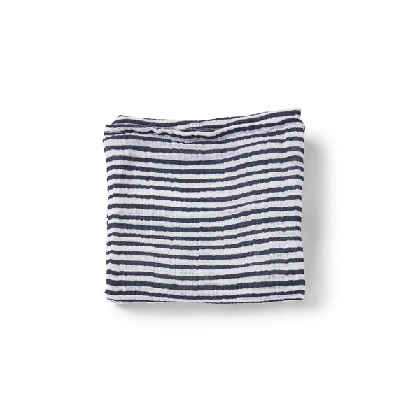 Pehr Swaddle Stripes Away Ink Nuschi 70x70 cm bei Yay Kids