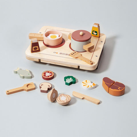 Petit Monkey Kinder Holz Koch Set bei Yay Kids