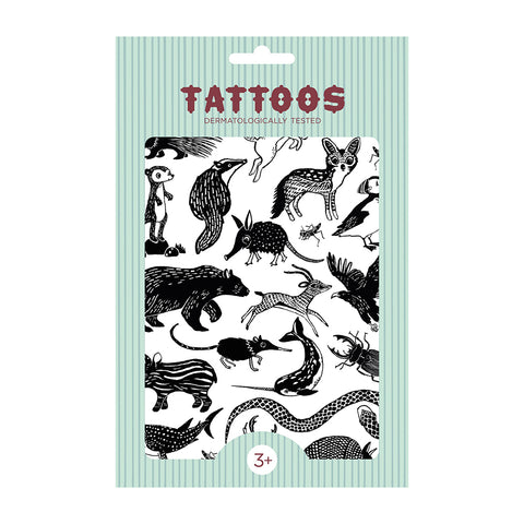 Tattoos Black Animals