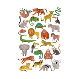 Petit Monkey Kinder Tattoo Dschungel Tiere bei Yay Kids