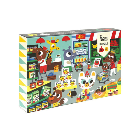 Petit Monkey Kinder Puzzle Supermarket bei Yay Kids