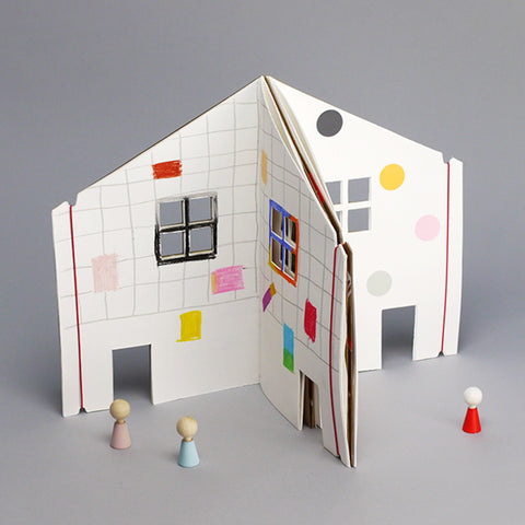 Rock & Pebble Kinder Malbuch Dollhouse bei Yay Kids