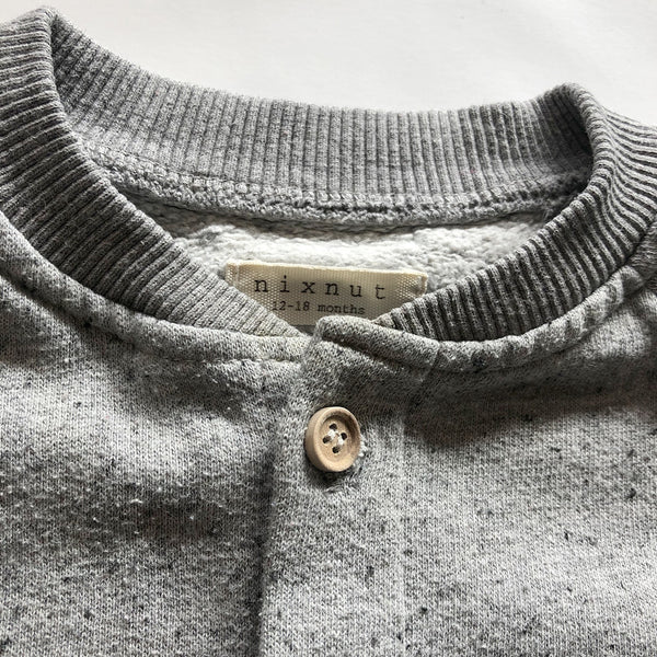 Second Hand Kinder Cardigan Grau von Nixnut bei Yay Kids Closet