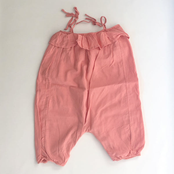 Second Hand Piupiuchick Mädchen Overall Coral bei Yay Kids Closet