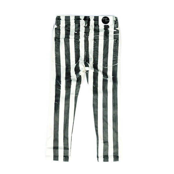 Sproet & Sprout Baby Jeans Rock Stripes hinten Yay Kids