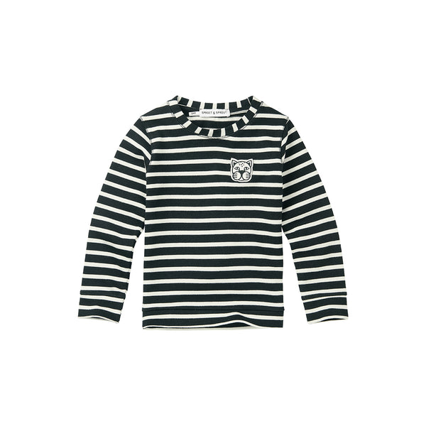 Sproet & Sprout gestreifter Kinder Pullover Stripes bei Yay Kids