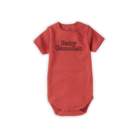 Sproet & Sprout Baby Body Kurzarm Baby Ganoush bei Yay Kids