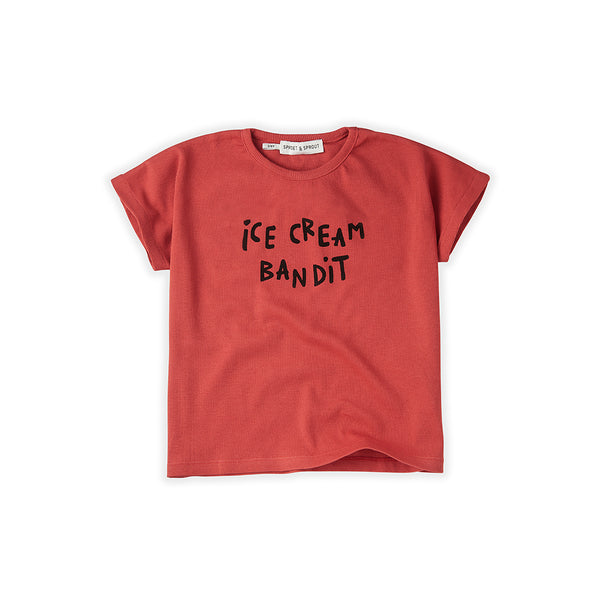 Sproet & Sprout Kinder T-Shirt Ice Cream Bandit bei Yay Kids