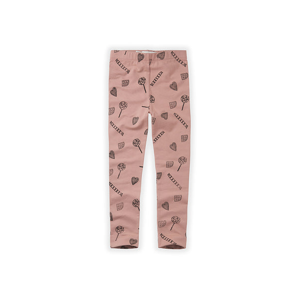 Sproet & Sprout Kinder Winter Leggings Rosa Candy bei Yay Kids