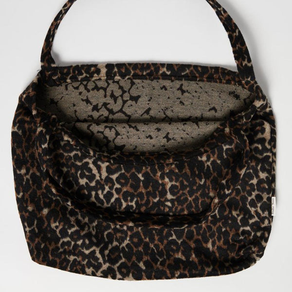 Studio Noos Mom-Bag Brown Jaguar Innen bei Yay Kids