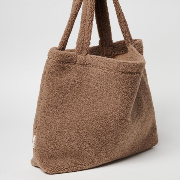 Studio Noos Mom-Bag Chunky Teddy Brown Seite bei Yay Kids