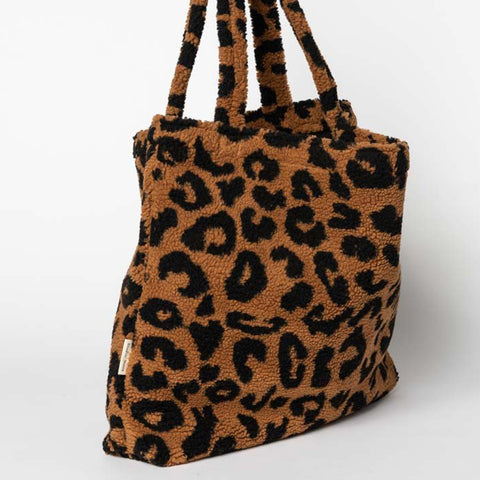 Studio Noos Mom-Bag Chunky Teddy Leopard Braun bei Yay Kids