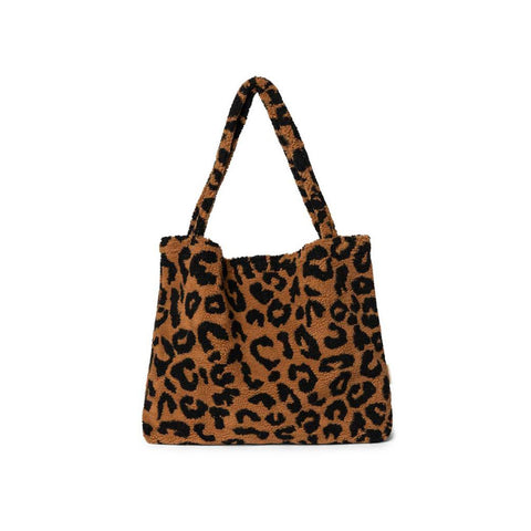 Studio Noos Mom-Bag Chunky Teddy Leopard Brown bei Yay Kids
