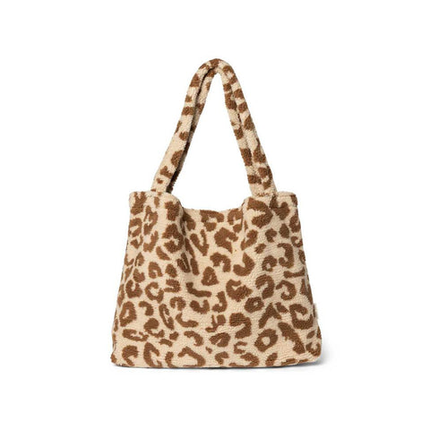 Studio Noos Limited Edition Mom-Bag Teddy Leopard Ecru bei Yay Kids