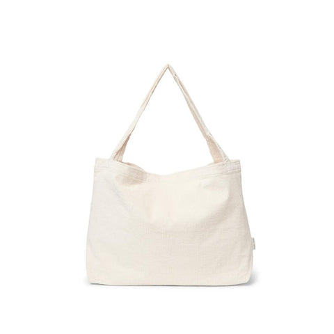 Studio Noos Mom-Bag Kinderwagen Tasche Old White Rib bei Yay Kids