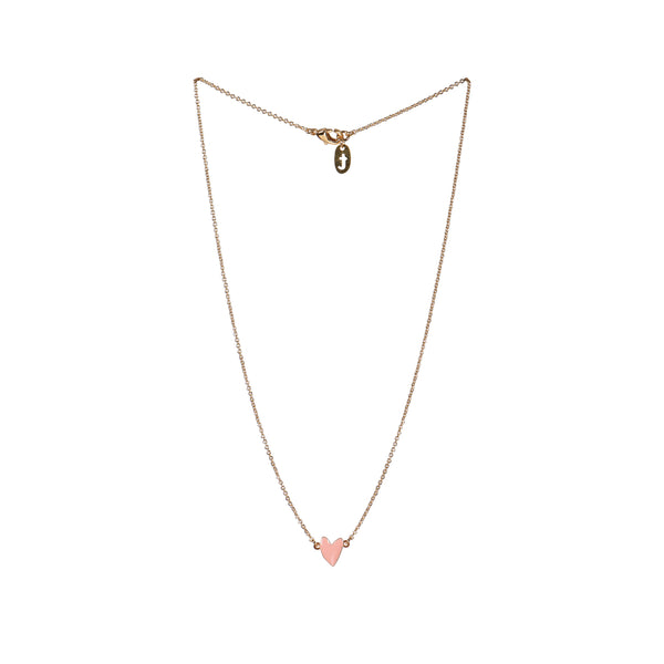 Necklace Heart Rose