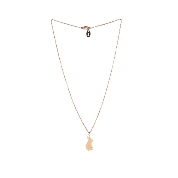 Kinderkette Gold Necklace Rabbit von Titlee bei Yay Kids