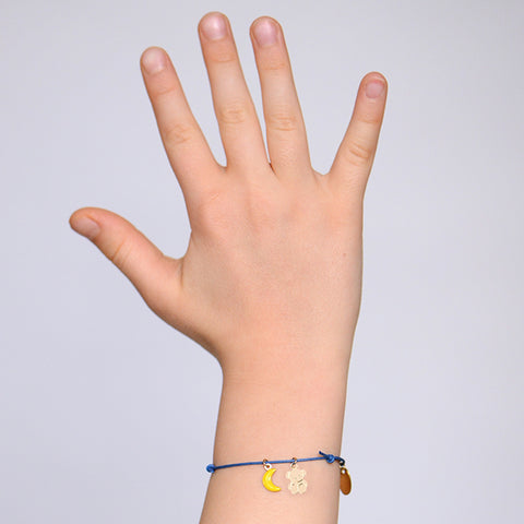 Titlee Kinder Armband vergoldet Miffy Bär bei Yay Kids